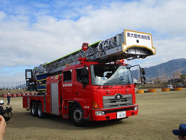 平成31年東大阪市消防出初式 レポート