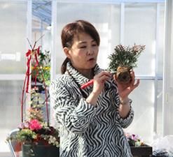 第6回 みどりの教室 クリスマス特別イベント「大人かわいい葉ボタンの寄せ植え」