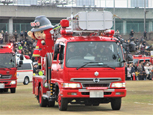 令和2年東大阪市消防出初式