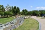 花園中央公園内 せせらぎの川・全噴水を 7月17日(金)より稼働開始