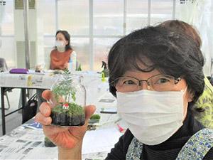 第8回 みどりの教室『苔のテラリウム』レポート