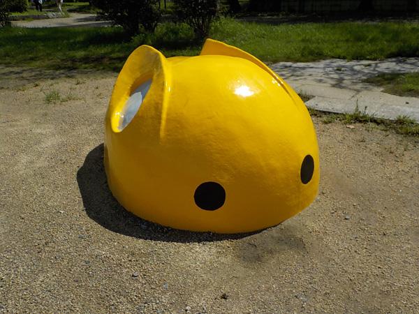 緩衝緑地公園(吉原北公園)コンクリート製遊具リニューアル